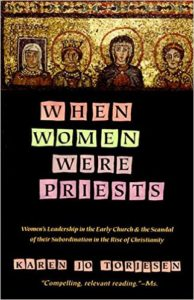 "Book cover for Karen Torjesen's ""When Women Were Priests"""