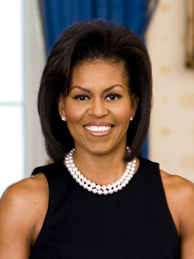 Portrait of Michelle Obama
