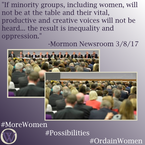 Ordain Women More Women