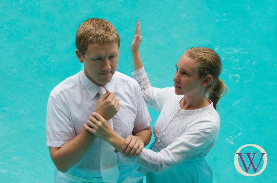 LDS Baptism Photo Illustration ~ Ordain Women