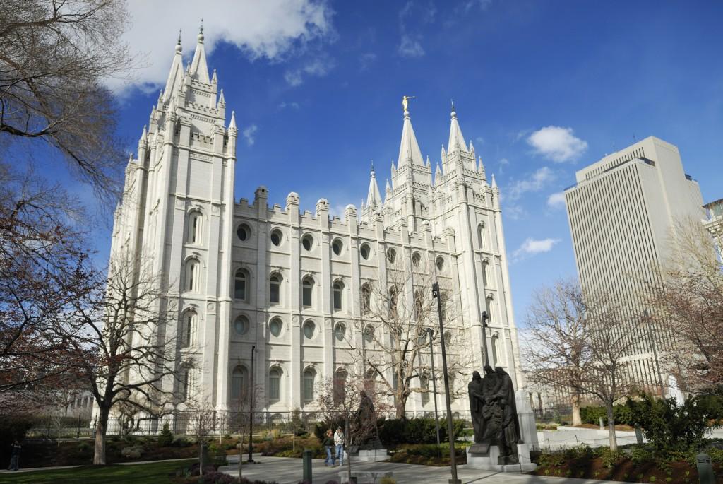 LDS Temple in Salt Lake City UT